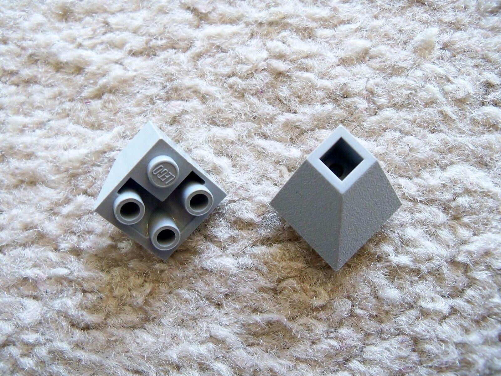 Lego Star Wars Selten 2 Blau Grau Hang Umgekehrt 45 2 X 2 Doppel Konvex - 10030
