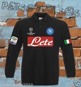 Camiseta Napoli manga larga