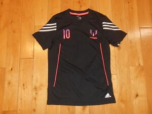 separation shoes 3d0c2 b7580 Details about Adidas 2013 LIONEL MESSI #10 Give All For Your Team Jersey  Kit Shirt Youth M