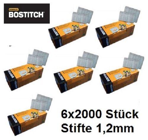 12'000 45mm Stauchkopfnägel Brads Nägel für Bostitch BT 1855 Prebena J BeA Senco