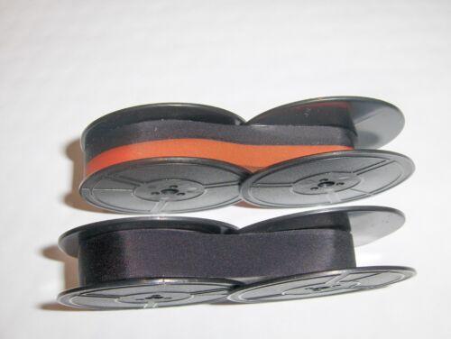 2 Pk Black and Red Smith Corona Sterling Silent 2 Ribbon Combo Pk