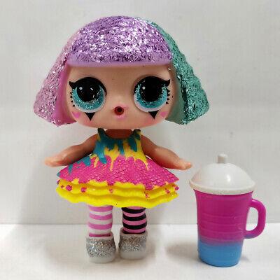 lol doll Big Sister Series Glitter Purple Hair White Dress Kids Birthday Gift