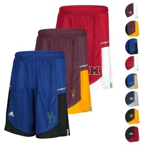 NCAA Adidas Men's Sideline Player Performance Climalite Basketball Shorts