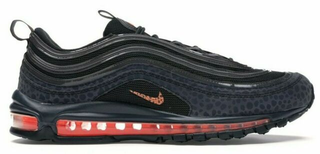 Nike Air Max 97 SE Reflective Men's Shoes BQ6524 001 BlackOrange sz 6 13
