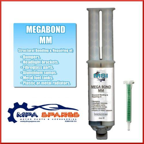 MEGABOND FAST BONDING ADHESIVE FOR SKODA SUMP REPAIR, RADIATOR, INTERCOOLER FIX
