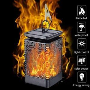 DEL-Flamme-Solaire-Torche-Lumiere-Clignotante-danse-Jardin-Chemin-Lanterne-Lampe