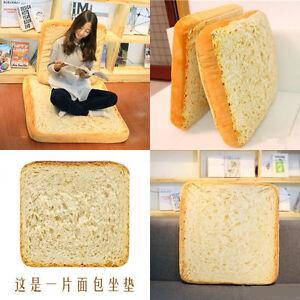 Image Is Loading Fashion Bread Cushion Toast Slice Soft Pillow Sleeping