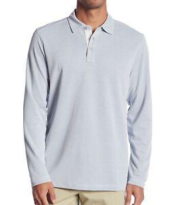 Tommy-Bahama-Men-039-s-Long-Sleeve-Shoreline-Surf-Polo-Golf-Knit-Shirt-Sail-Fish