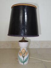 ancienne lampe céramique LE GRAND CHENE ceramic lamp NAUMOVITCH 1950 VALLAURIS