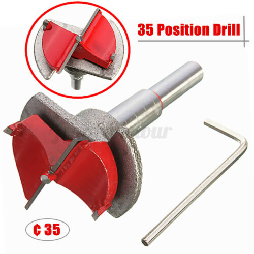35MM Position Drill Carbide Tipped Hinge Cutter Design Boring Drill Wood