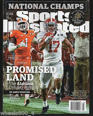 Sports Illustrated 2016 Alabama Tide National Champions Newsstand Issue NR/Mint