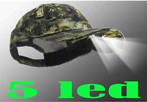 Caricamento dell immagine in corso cappello-con-luce-cappello-mimetico- caccia-pesca-con- 9af041440fe6