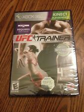 UFC Trainer Kinect XBox 360. New, Sealed. Rare - Out Of Print! Ships Quickly.