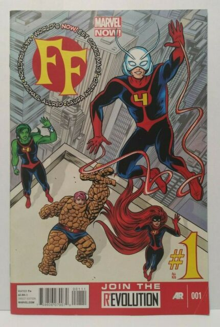 Marvel Fantastic Four 1 Comic Book For Sale Online Ebay