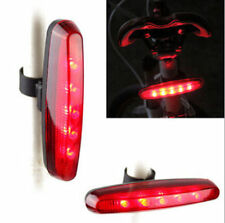 Cycling Night Super Bright Red 5 LED Rear Tail Light Bicycle 4 Modes Lamp