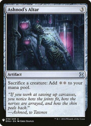 1x Ashnod/'s Altar Mystery Booster Near Mint MTG