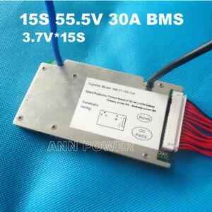 15S 30A 55.5V BMS Li-ion Cell Battery ANN Balanced E-bike UK seller/stocks 18650