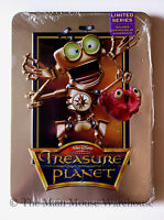Disney Treasure Planet On Dvd In Real 3d Collectible Tin Packaging Includes Coa