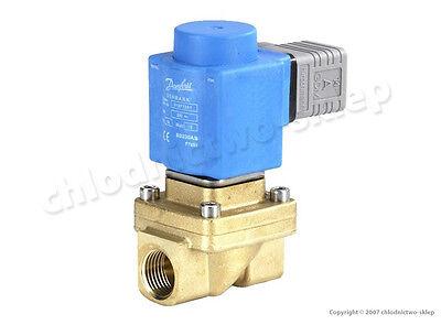 "Solenoid valve Danfoss EV250B 12BD, NC, 1/2"", 12V 24V 110V 230V 50/60Hz 032U5252"