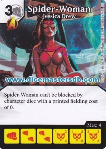 Age of Ultron Spider-Woman Jessica Drew #65 Marvel Dice Masters