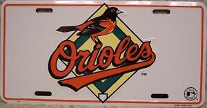 MLB-Aluminum-License-Plate-Baltimore-Orioles-NEW