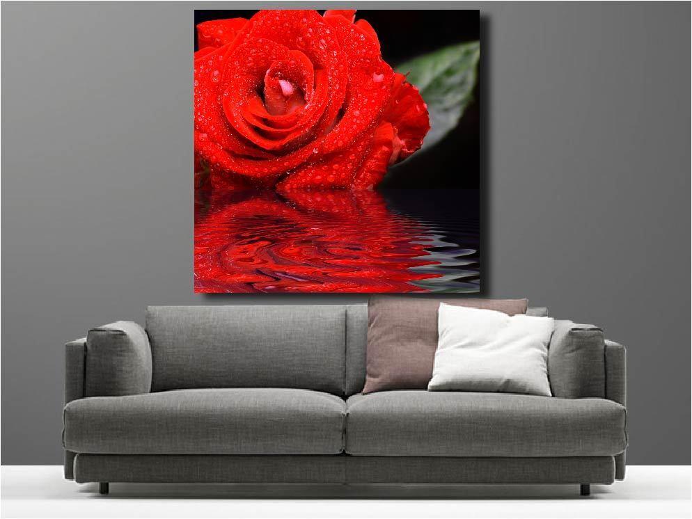 Tableaux Rose toiles déco en kit Rose Tableaux réf 2029789 303cd3