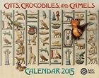 Cats, Crocodiles, and Camels: Calendar 2015 by Dominique Navarro (Spiral bound, 2014)
