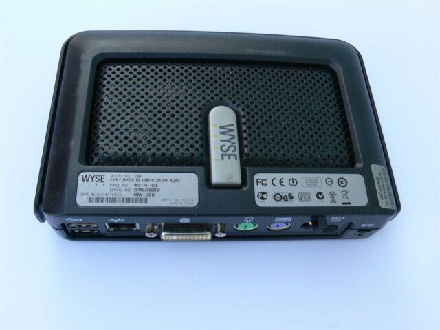 Wyse Thin Client Cx0 C10LE WTOS 1000M 128/512 P/N: 902175-03L