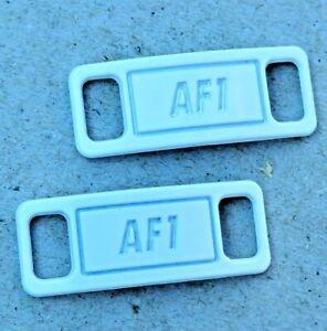 Détails sur Boucle de lacets Nike Air Force 1 blanc bijou de chaussures décoration