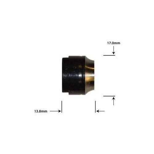WHEELS Nabenkonus CN-R081 10mmx1 D17mm L 13.8mm