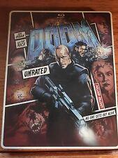 Doom STEELBOOK (Blu-Ray + DVD, 2013, 2-Disc Set) - The Rock & Karl Urban