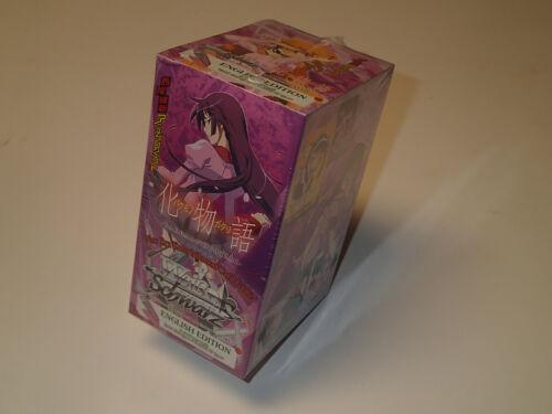Weis Schwarz CCG BAKEMONOGATARI english factory sealed Booster Box 20 packs