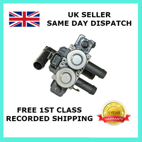 FOR JAGUAR S TYPE WATER HEATER VALVE PART NUMBER XR822975 5 PIPE//PORT VERSION