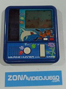 Juego electronico LCD, Marine Hunter, Cg-50, Casio 1983.