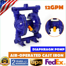 Air Operated Double Diaphragm Oil Pump 12 Gpm 12in Inlet And Outlet Qbk 15