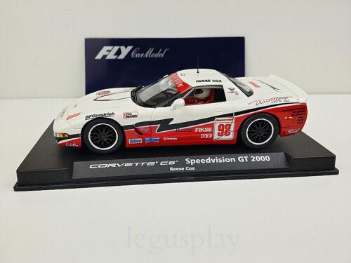 Slot Car Scx Scalextric Fly 88075 Corvette \