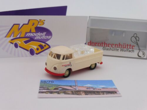 "Brekina modello speciale # VW t1b Pianale /""Glashütte Wolfach 1/"" limtiert 70 pezzi"