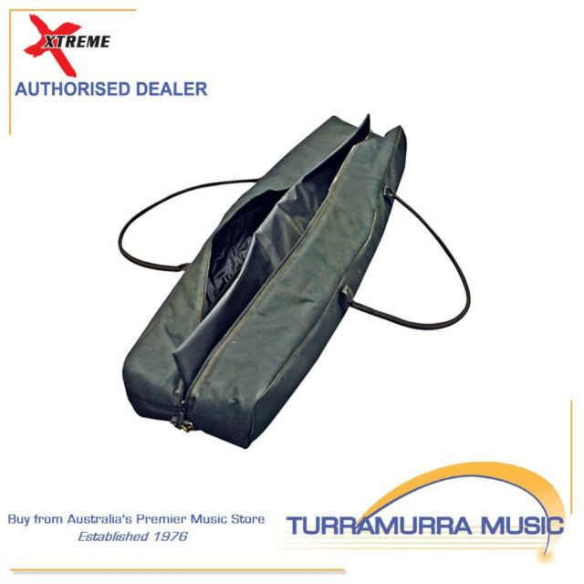 Xtreme Heavy Duty Waterproof Speaker / Lighting Stand Bag 10mm Padded w Divider