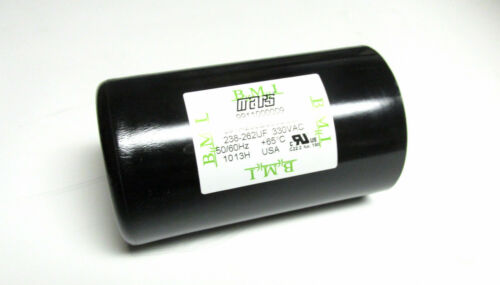 BMI Mars Motor Start Capacitor 330VAC Cat# 091A23B330DE8X . * NEW . WC-101