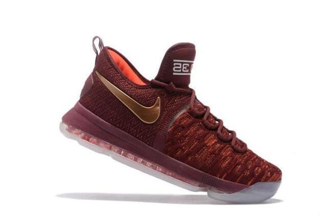 90ebad7655b Men s Nike Zoom Kd9 Xmas Deep Burgundy The Sauce 852409-696 Size 9 ...