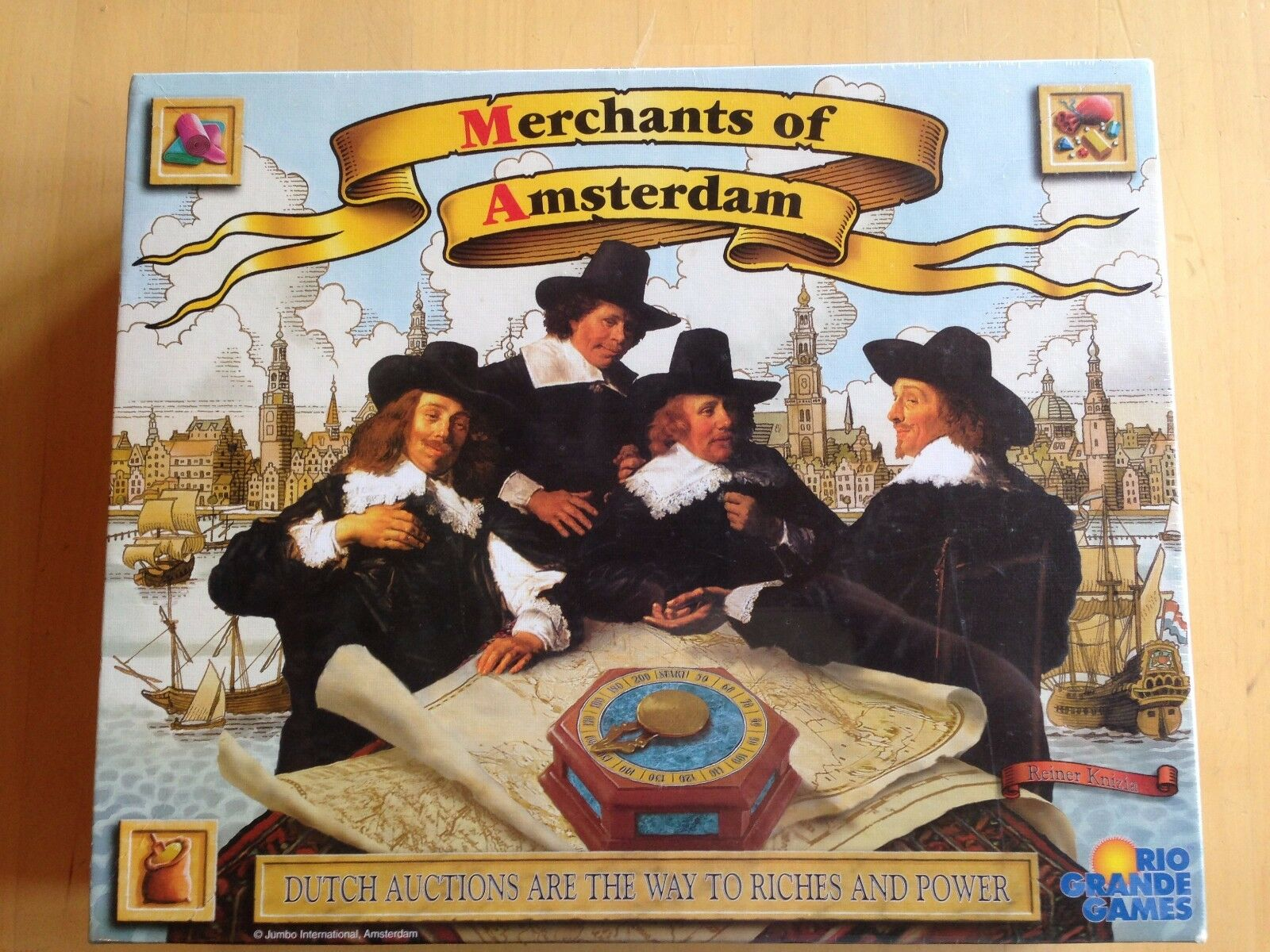 Merchants Of Amsterdam, Rio Grande Games, New