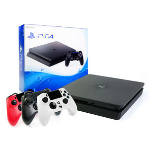 Sony-ps4-CONSOLE-SLIM-500gb-NUOVO-Gator-Claw-Wired-Controller-PLAYSTATION-4