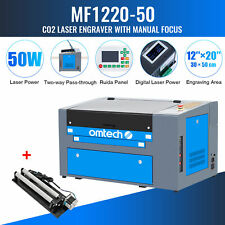 Omtech Co2 Laser Engraver 50w 20x12 Inch 50x30cm Engraver Cutter W Rotary Axis A