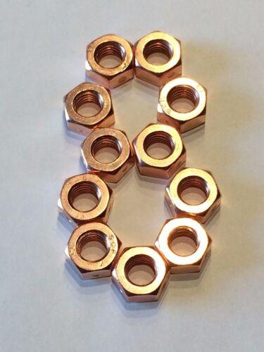 Biloc M8 Kupfermutter hochfest 10.9 Sicherungsmutter hohe Klemmwirkung 20 Stück