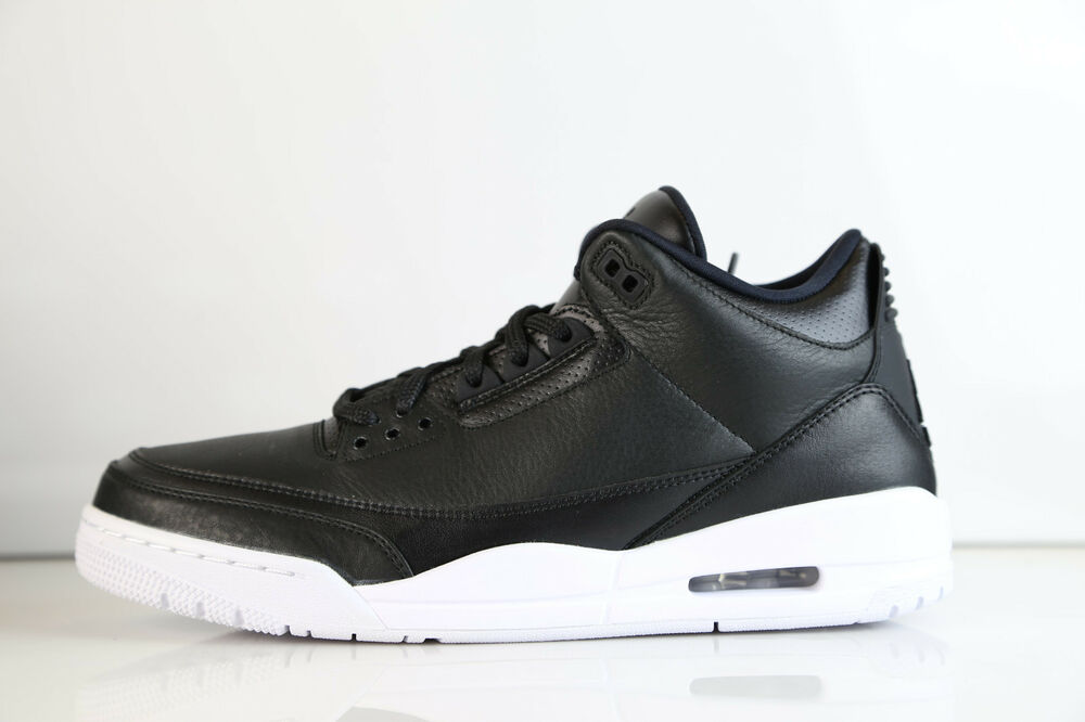 Nike Air Jordan Retro 3 Cyber Monday noir 2016 136064-020 8-13 11 4 blanc