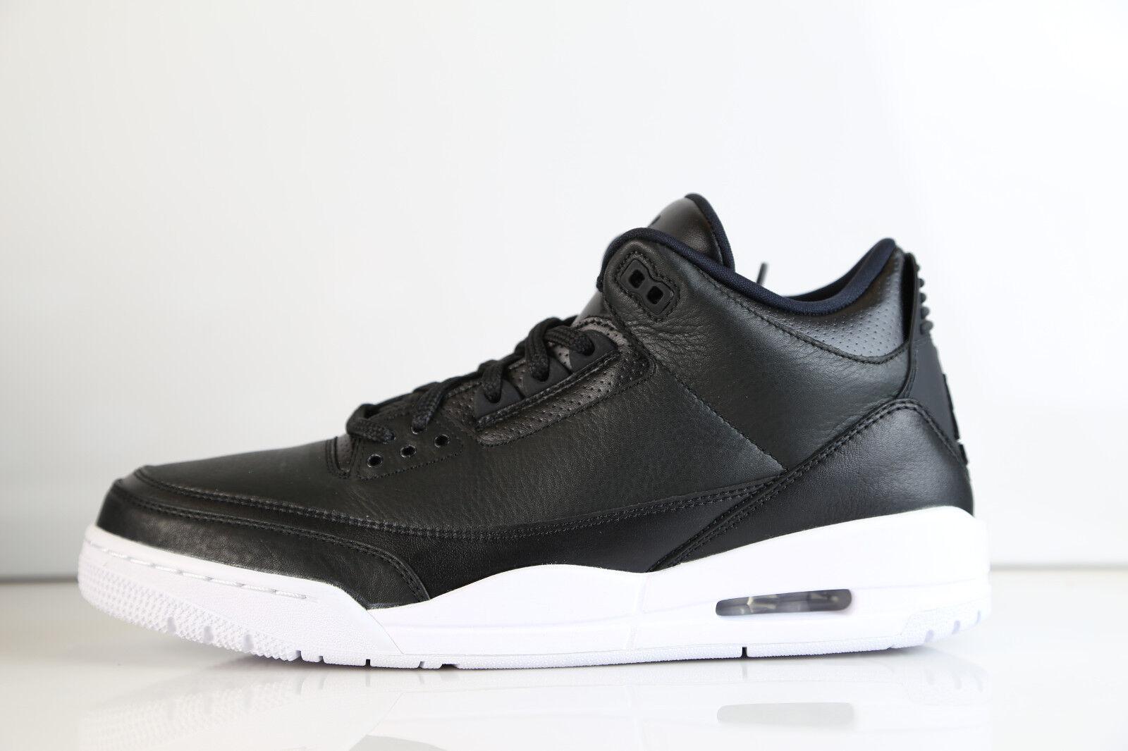 Nike Air Jordan Retro 3 Cyber Monday Black 2016 136064-020 8-13 11 4 white