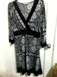 Details about PLUS SIZE DRESS BY THE AVENUE SIZE 18/20