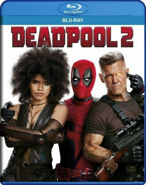 Deadpool 2 Blu Ray Digital Ryan Reynolds Marvel 2018 For Sale Online Ebay
