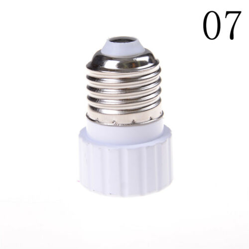 GU10//E27//E14//E40//B22 Bulb Adapter Lamp Extender Socket Converter Light Holder /&W