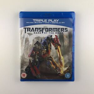 Transformers-Dark-Of-The-Moon-Blu-ray-2011-2-Disc-Set-New-amp-Sealed